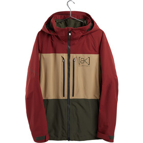 Burton Swash Chaqueta Gore-Tex Hombre, sparrow/kelp/forest night